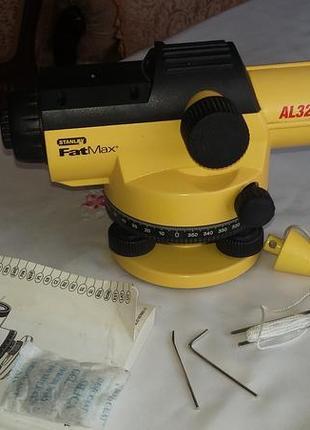 Оптический нивелир Stanley Fat Max AL32 (32×automatic level kit)