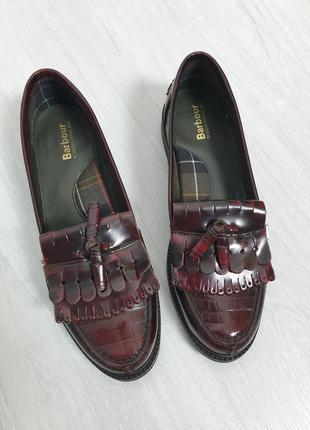 Туфли лоферы barbour