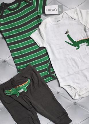 Набор, комплект, костюм carter's. боди и штаны картерс. новые