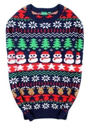 Новогодний свитер avenue