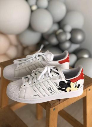 Кроссовки superstar adidas mickey mouse кросівки