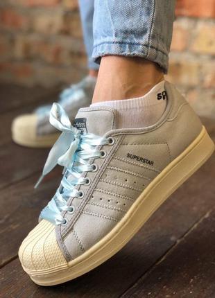 Adidas superstar женские кроссовки 36,37,38,39,40