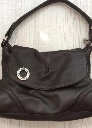 Кожаная сумка pourchet