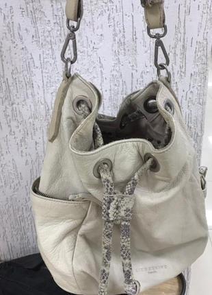 Кожаная сумка-торба от liebeskind berlin