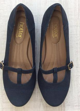 Туфли кожаные hotter