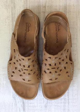 Кожаные сандалии clarks