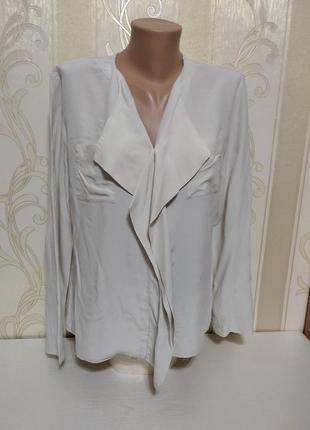 Шелковая блузка ,100% шелк, scenario
