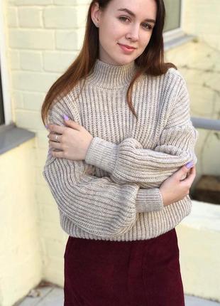 Уютные и теплые свитерки