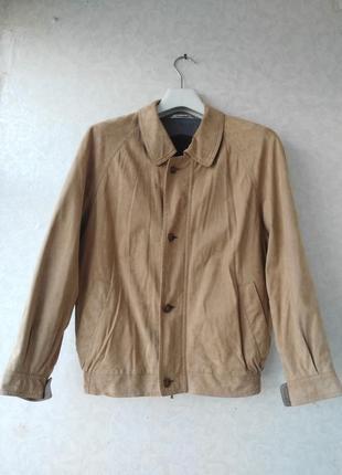 Amaretta 48-50p куртка весна-осінь экозамша італія
