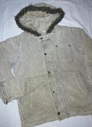 Adams теплое вельветовое пальто куртка на осень зиму мальчику ...