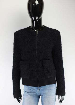 Шерстяная куртка жакет
