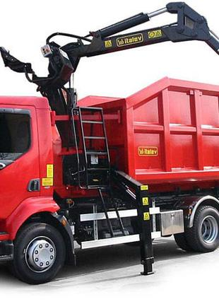 Вывоз строительно мусора самосвалами