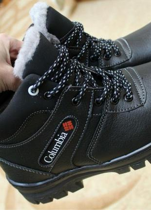 "Ботинки ""мужские"" коламбия."