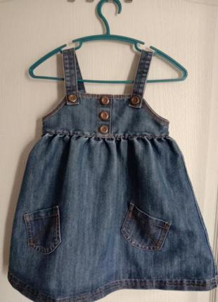 Джинсовый сарафан джинсовые платье
