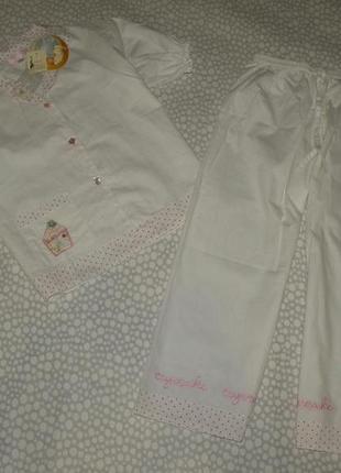 Пижама тортики 6-7 лет
