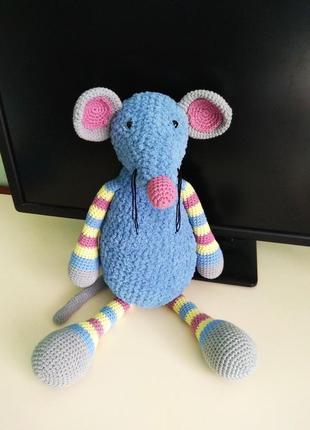 Іграшка ручної роботи - Мишка Пін