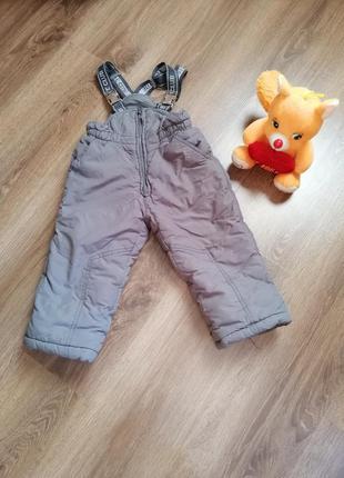Зимний комбинезон, теплые штаны