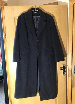 Длинное женское зимние/демисезонное пальто/плащ