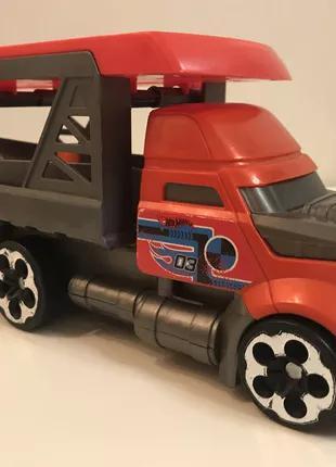 Hot Wheels City Blasting /Хот Вилс перевозчик пускатель