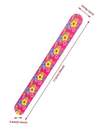 Пилка пилочка для ногтей 100/180 pink качество