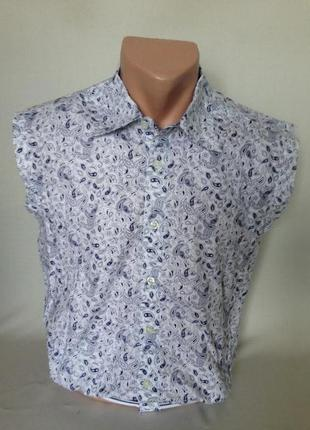 Стильная новая мужская рубашка турция р-р м, l, xxl