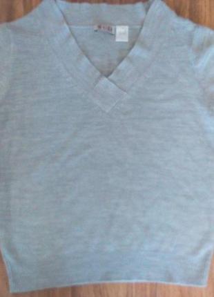 Джемпер с коротким рукавом кофта