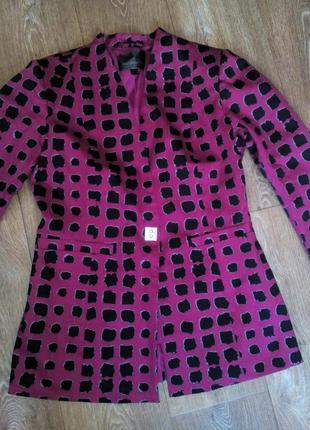 Жакет блейзер пиджак бордо