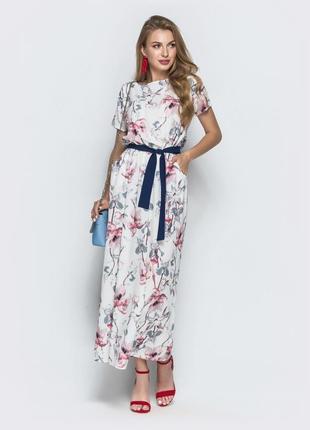 Платье макси + подарок !!! (сюрприз или на ваш выбор)