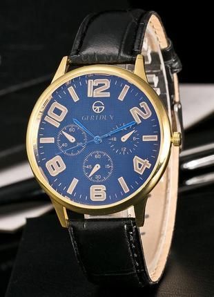 1-46 новые черные наручные часы кварцевые