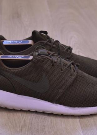 Nike roshe run мужские кроссовки сетка оригинал