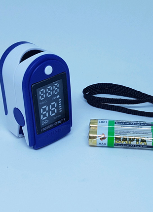 Пульсоксиметр LK 87Fingertip Pulse Oximeter + батарейки