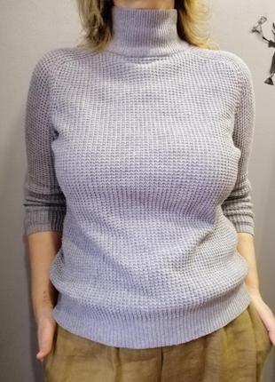 Базовый свитерок под горло zara р.м-l