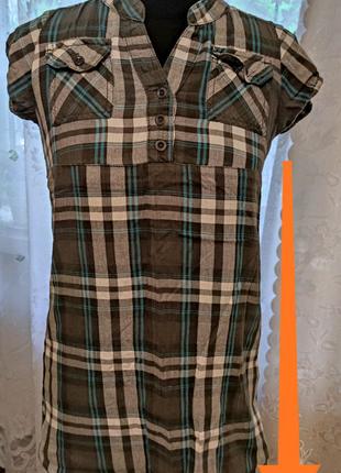 Фирменная туника рубашка