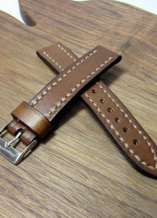 Ремешок для часов, 18мм, кожаный