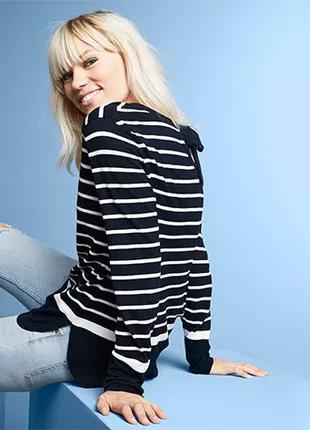 Полосатый свитер, кофта от Tcm Tchibo, Германия, р-р 36-38 евро