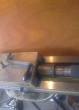 Тиски станочные с гидравлическим усилением ТСУ-160, губки 160 мм