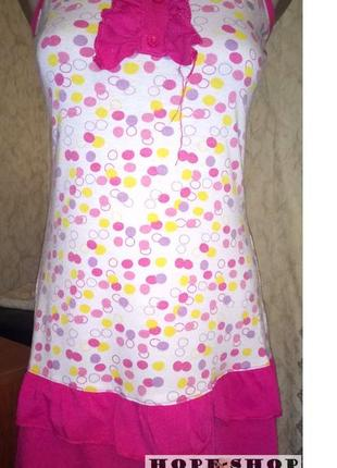Домашний сарафан, трикотажная ночная рубашка м