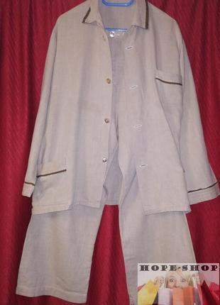 🌙домашний костюм,прикольная пижама, брюки и кофта с длинным ру...