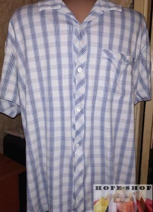 💞трикотажная домашняя шведка,рубашка для сна с коротким рукаво...