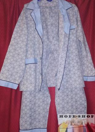 💞🌙мужская  пижама   принтованная серая пижама на пуговицах с б...