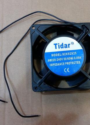 Вентилятор осевой универсальный Tidar 92мм*92мм*25мм 0,09А 12W...