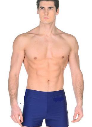 Мужские плавки шорты синие