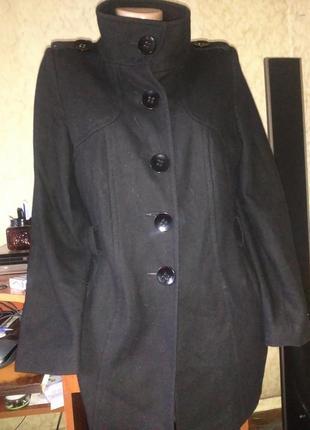 Модное трендовое короткое пальто известного бренда 14.распродажа.