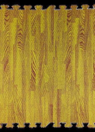 Модульное напольное покрытие 600*600*10 мм желтое дерево