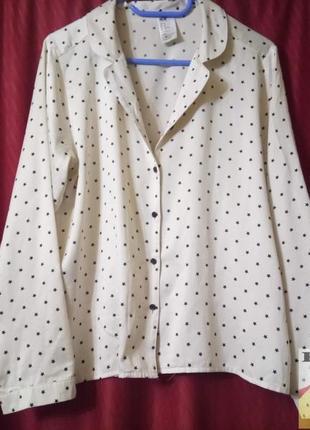 Атласная принтованная домашняя рубашка,рубашка для сна с длинн...