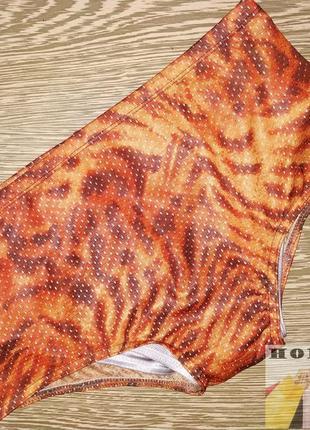 Мужские плавки шорты тигровые