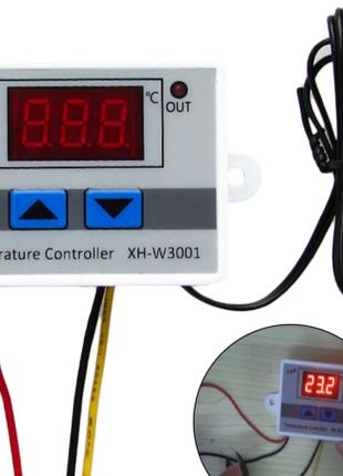 Терморегулятор ,термореле, термостат XH-W3001 110- 220V 1500Вт.-5