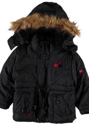 Детская зимняя куртка с мехом. производство турция.
