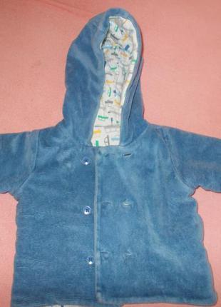 Курточка осення весенняя пиджак marks&spenser вельветовая