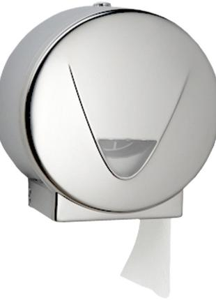 Диспенсер рулонной туалетной бумаги, Нержавеющая сталь, Хром (...